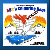 ABC's COLOURING BOOK, First Nations, Indigenous, Aborigina