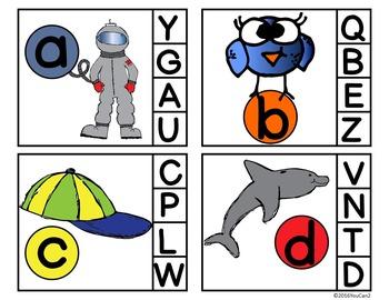 Alphabet Clip Cards:  FIND IT, CLIP IT, FLIP IT!