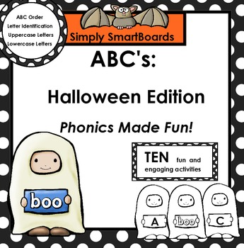 ABC's:  Halloween Edition