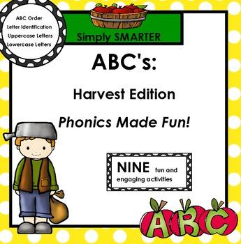 ABC's:  Harvest Edition
