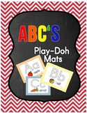 ABC's Letter and Sound Recognition Play Doh Mats