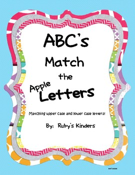 ABC's Match the Apple Letters