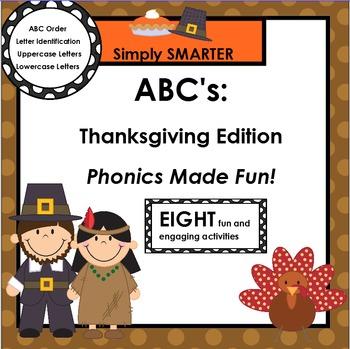 SMARTBOARD ABC's:  Thanksgiving Edition