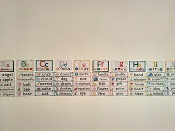 ABC's Word wall