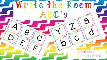 Write the Room-ABC's