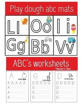 ABC's Bundle, 7 fun and hands-on phonics resources.