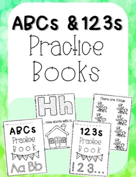 ABC's and 123's Practice Pack