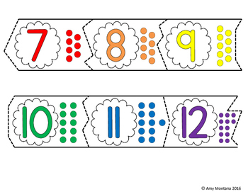 ABC's and Counting to 20 Puzzles