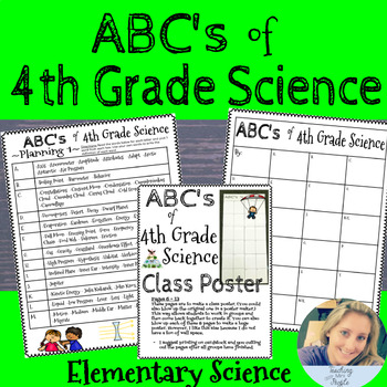 ABC's of 4th Grade Science