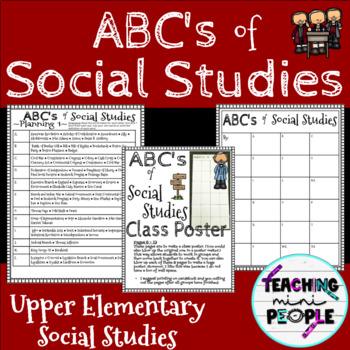 ABC's of Social Studies