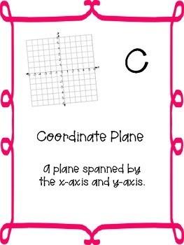 5th Grade Alphabet Math Posters
