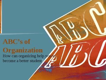 ABC's of Organization