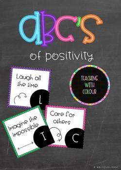 ABC's of Positivities