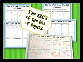 ABC's of the Bill of Rights Worksheet- Civics & Government