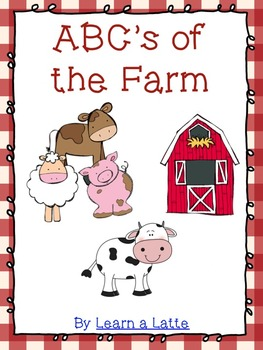 ABC's of the Farm Book (Color, B/W, 4 per page, and Make Y