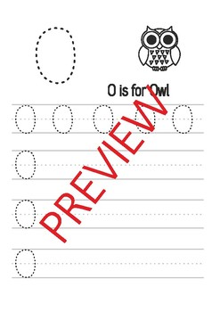 ABC's worksheets. I can write all the letters.