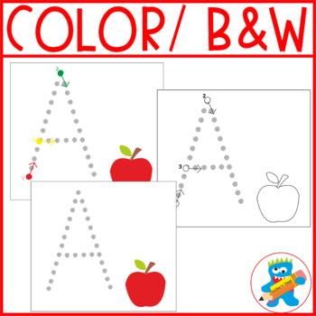 ABC's writing mats