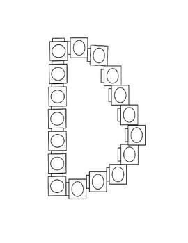 ABC snap block patterns