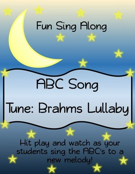 ABC Sing Along- Brahms Lullaby
