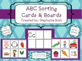ABC sorts, ABC picture cards, beginning sound cards
