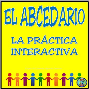 Interactive Spanish Alphabet Practice / Práctica interactiva del abcedario