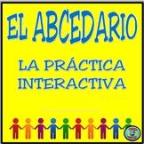 Interactive Spanish Alphabet Practice Prompt Card - El abcedario interactivo