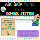 ABC w/ Duration and Frequency data sheet