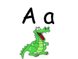 ABC whole brain letter and sound identification video.