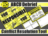 ABCD Debrief - Conflict Resolution and Classroom Management Tool