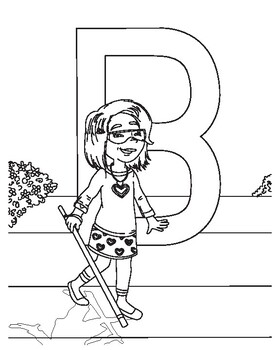 ABCD Disability Coloring Book