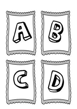 ABCD Flash Cards