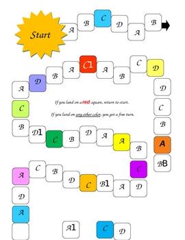 ABCD Game Mat