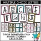 Multiple Choice RESPONSE CARDS - Make Test Prep Fun! - ABCD Answer Cards