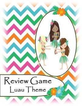 Test Review Game - Luau Theme