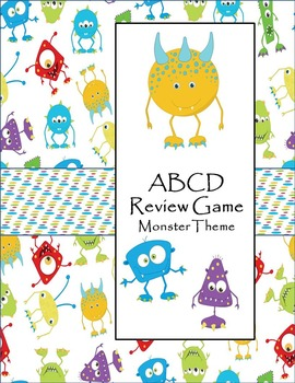Test Review Game - Monster Theme