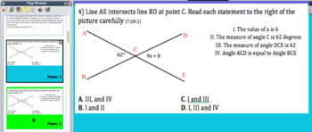 ABCD SPRINT Geometry Review