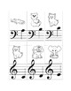 ABCDE Game for beginning piano students