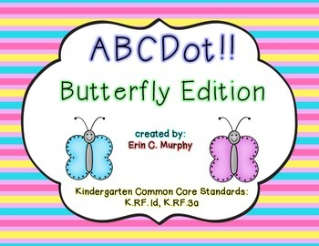 ABCDot: An Alphabet Game for RTI