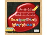 ABC'S & 123'S Handwriting Workbook hooked to Common Core Standards