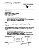 ABCG Writing- High School Essay Starter