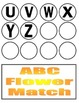 ABC/abc Flower Match File Folder Activity