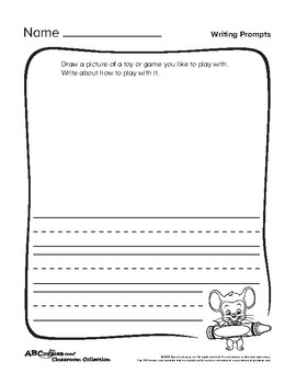 ABCmouse Informational Writing Prompts (English and Spanish)