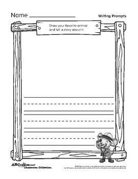 ABCmouse Narrative Writing Prompts (English and Spanish)