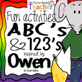 ABC's & 123's Activity Packet inspired by Owen by Kevin Henkes