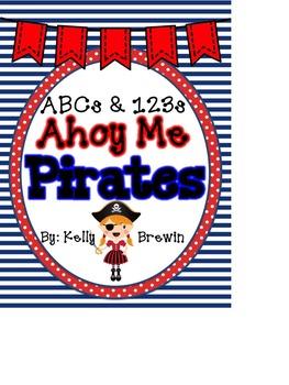 ABCs & 123s Ahoy Me Pirates Set