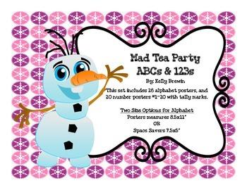 ABCs & 123s Frozen Set