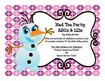 ABCs & 123s Frozen Set
