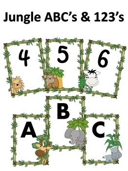 ABC's & 123's Jungle Theme