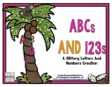 Letters And Numbers!   ABCs And 123s! A Glittery Letters a