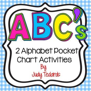 ABC's (2 Alphabet Pocket Chart Activities)